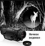 Цифровой прибор ночного видения (монокуляр) NV0535 Black + карта памяти в подарок, фото 3