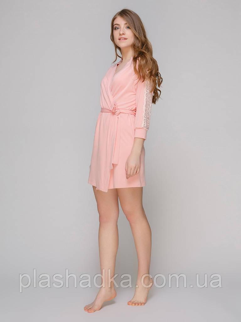 Serenade 5519Н халат віскоза рожевий Serenade (M)