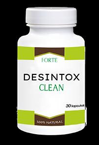 Desintox Clean (Десинтокс Клин)- капсулы для очищения организма от паразитов