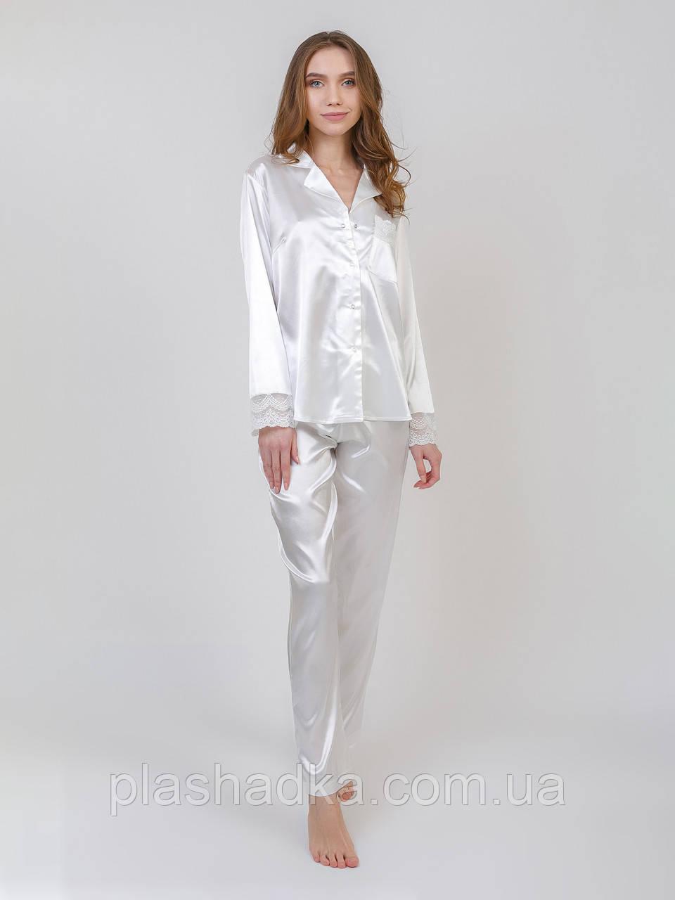Serenade 6005 костюм сатин шовк молочний Serenade  (L)