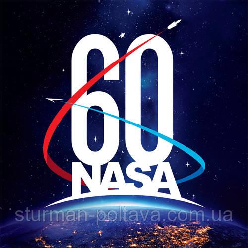 Патч нашивка  60 лет  NASA   (Rotcho) USA
