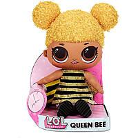 Новинка! Плюшевая кукла LOL Surprise! Huggable Plush Queen Bee!. ЛОЛ мягкая. MGA 571292
