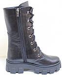 Берцы женские кожаные от производителя модель БМ351Д, фото 3