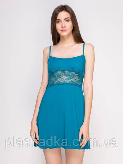 Serenade 5517S Пеньюар вискозный голубой Serenade (L)