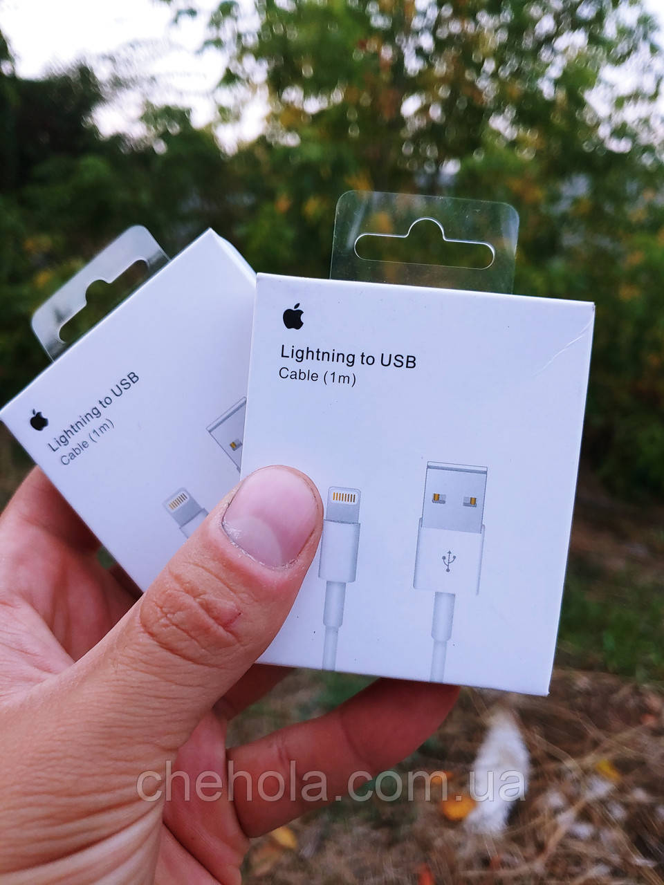Комплект 2 штуки оригинальных кабелей Iphone 5 6 7 8 XS XR Ipad Lightning 2м Foxconn MFI MD818ZM/A A1480