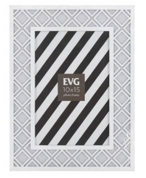 "Фоторамка сувенір. ""EVG FRESH"" 10х15 №L8176 white(48)"