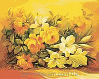 Картина по номерам Menglei MG2037 (KH2037) Шикарный букет 40 х 50 см