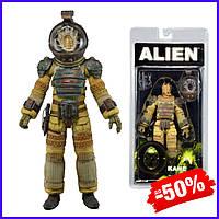 Детская игровая коллекционная фигурка персонажа Кейн из фильма ужасов Чужие 3 Kane Series 3 Alien Neca