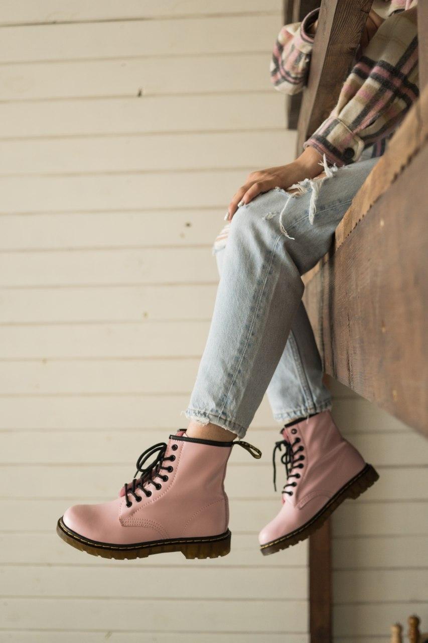 "Ботинки Dr. Martens ""Розовые"""