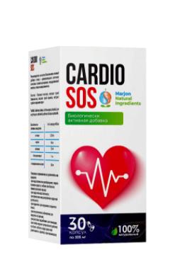 Cardio SOS (Кардио СОС) - капсулы для нормализации деятельности сердечно-сосудистой системы