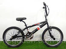 """Трюковый велосипед BMX Crosser Cobra 20"""" черно-красный"""