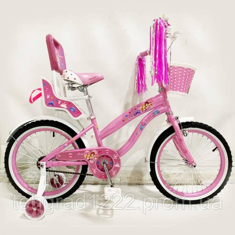 """Детский велосипед  Princess Rueda 18"""""""