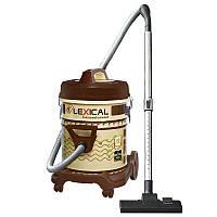 Профессиональный пылесос с большим пылесборником LEXICAL LVC-4002-3. 25 л пылесборник Brown/Cream 2200W