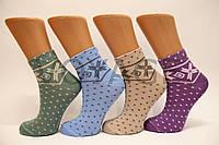 Женские носки средние с хлопка Style Luxe КЛ KJ   kj78