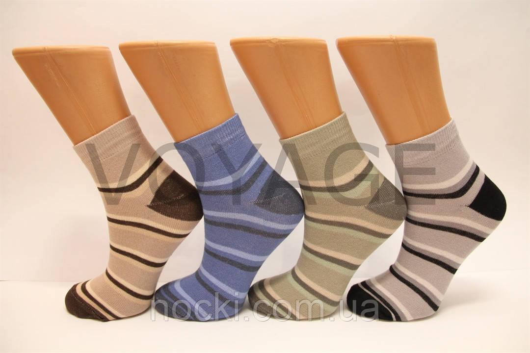 Жіночі шкарпетки середні стрейчеві з бавовни комп'ютерні Style Luxe КЛ KJ kj33