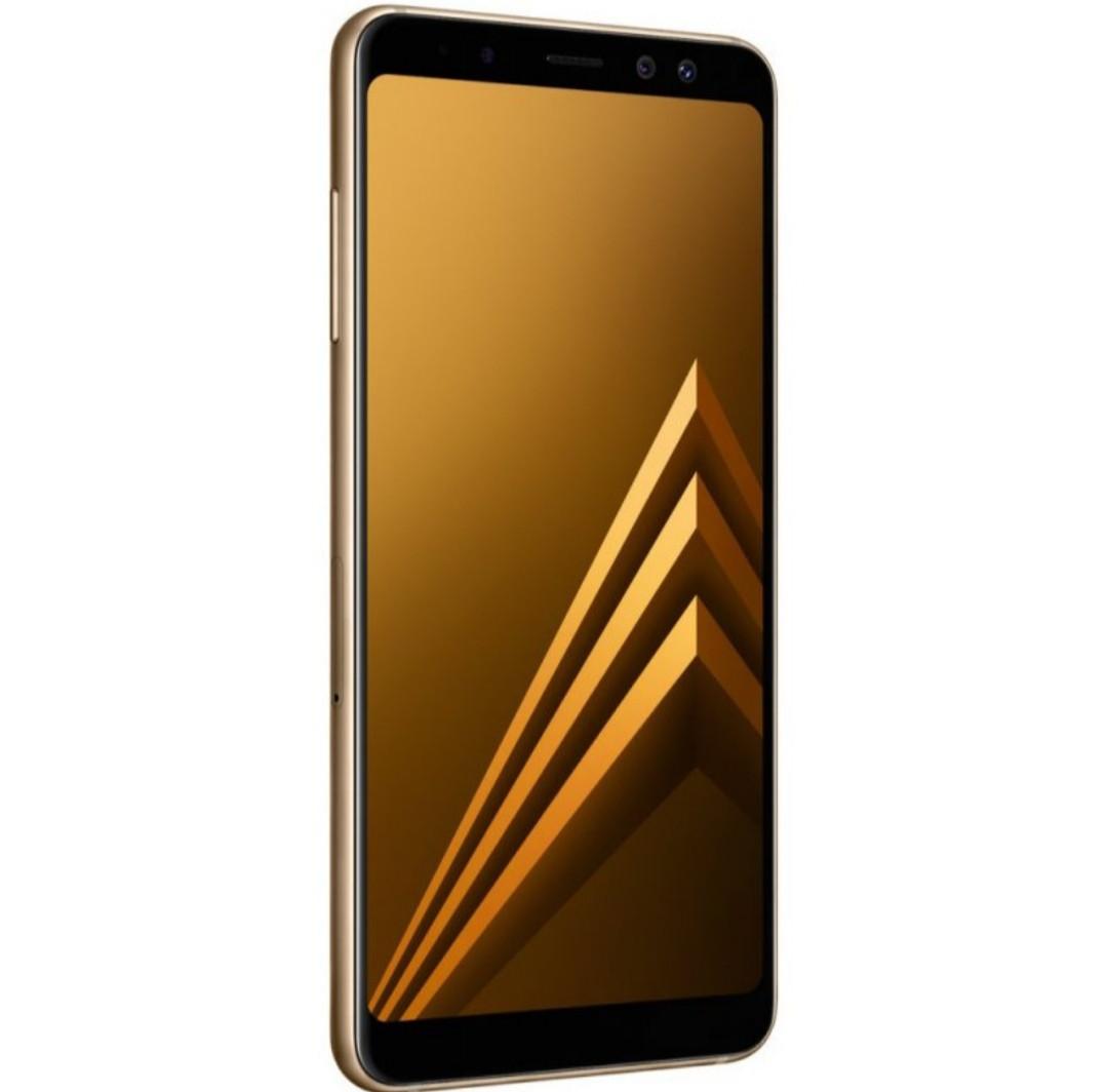 Смартфон Samsung Galaxy A8+ 2018 64 GB (Gold)