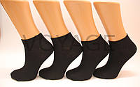 Женские носки короткие с хлопка MONTEBELLO КЛ 36-40 черный