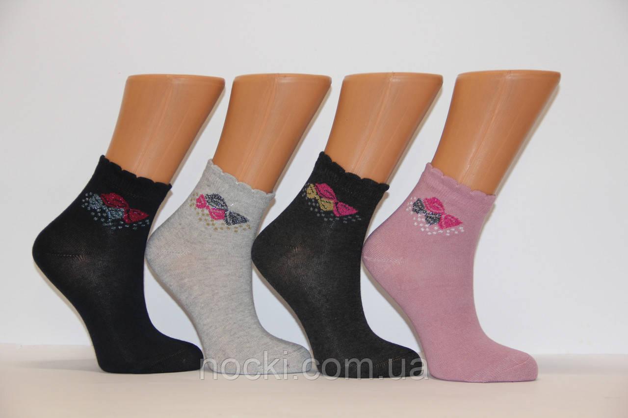 Детские носки средние Montebello Ф3 б/р 11  бантик