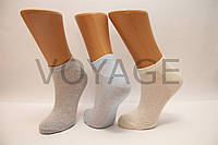 Жіночі шкарпетки короткі стрейчеві в сіточку НЛ асорті