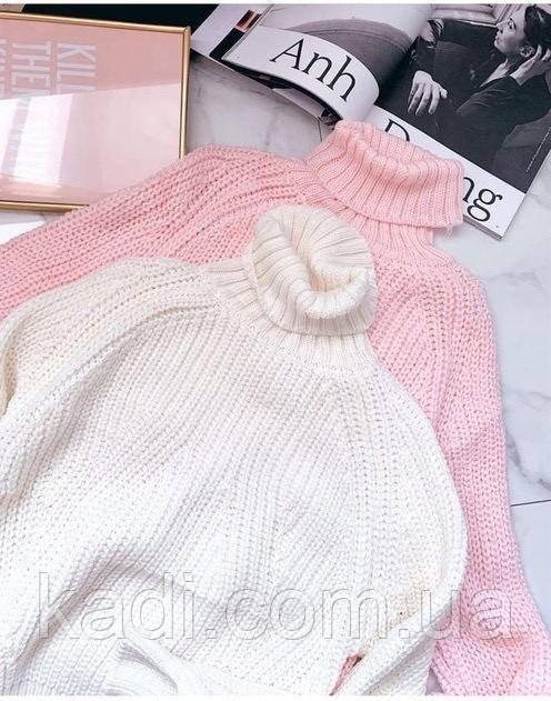 Объёмный свитер / арт.5506