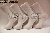 Мужские носки высокие стрейчевые Житомир бизнес класс 25-27 белый