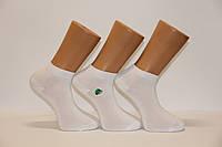 Мужские носки короткие с бамбука ф14 40-44 белый