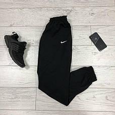 Мужские спортивные штаны в стиле Nike Black Черные, фото 3