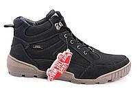 Зимние ботинки Vans черные