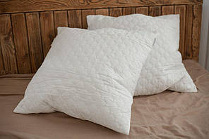 Подушка холофайбер, силикон 70х70, шариковая