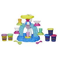 Плей До Набор Фабрика мороженого (Play-Doh Sweet Shoppe Swirl and Scoop Ice Cream Playset)