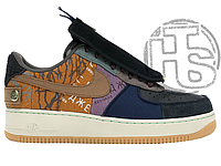 Женские кроссовки Nike Air Force 1 Low Travis Scott Cactus Jack Multicolor CN2405-900