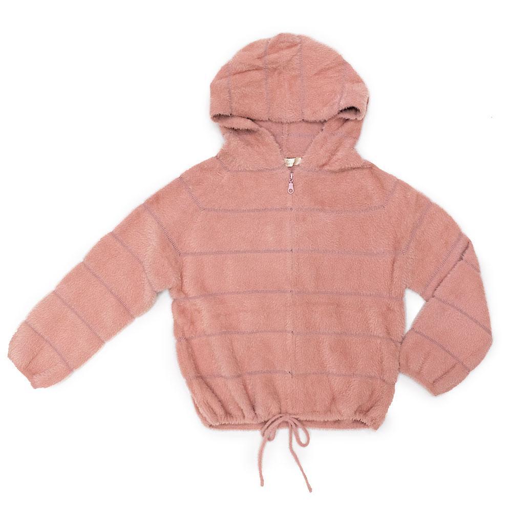 Кардиган для девочек Deloras 134  розовый 981179