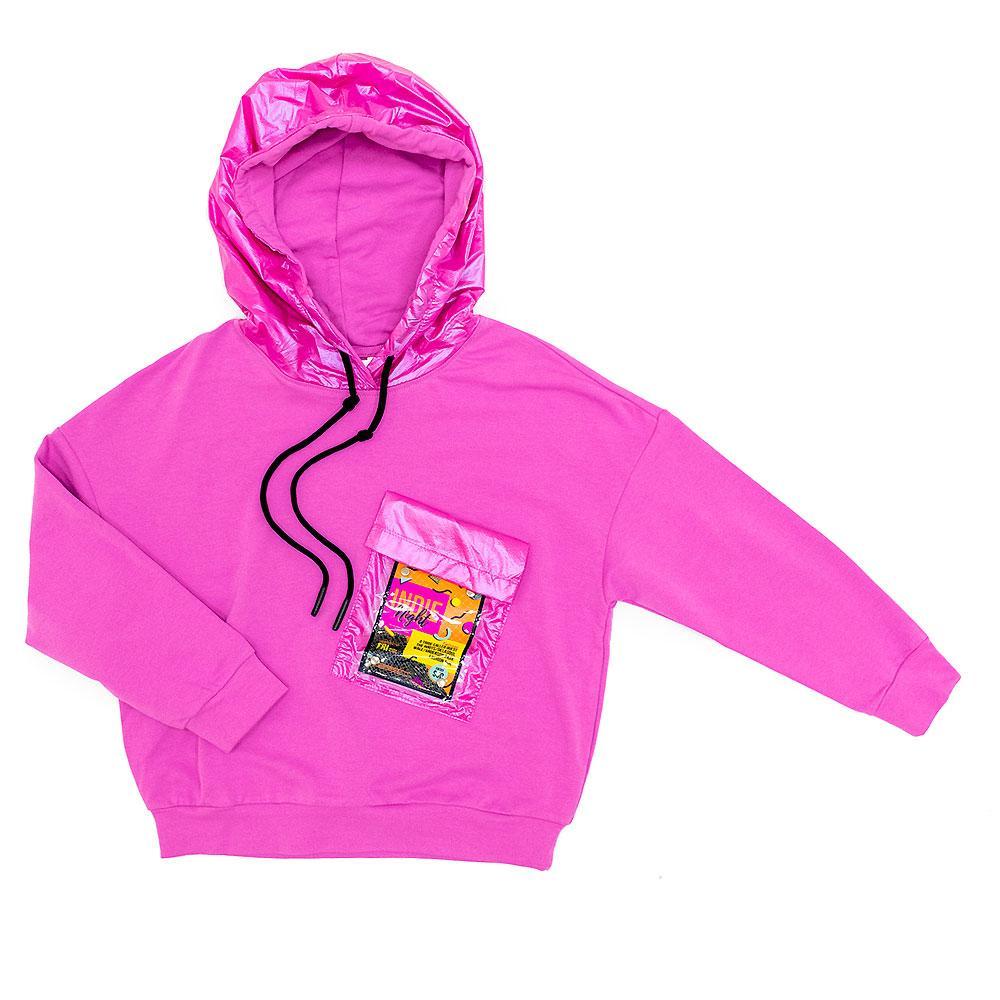 Свитшот для девочек Deloras 140  розовый 981181