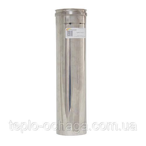 Труба дымоходная нержавейка 0, 5 метра AISI 321