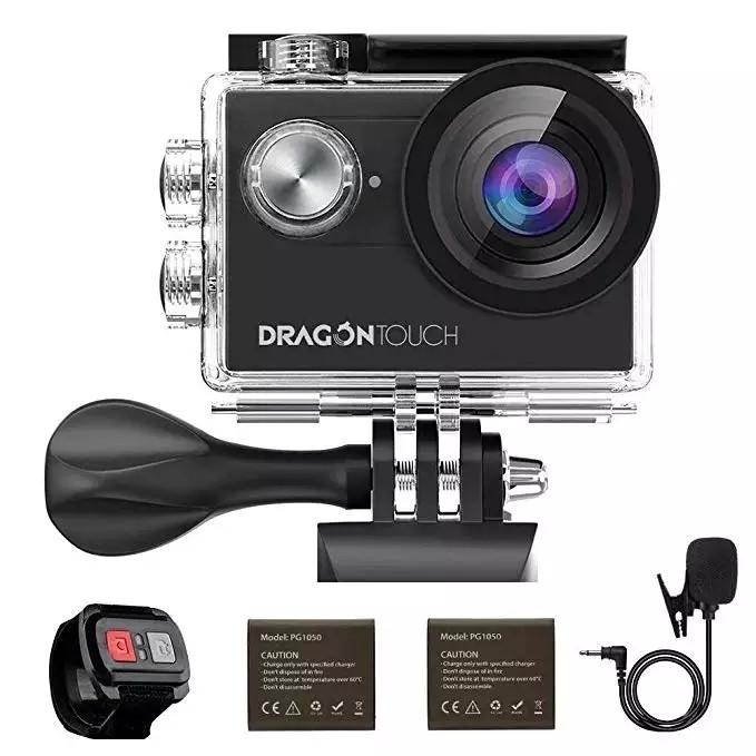 Екшн-камера Dragon Vision Touch 4 EIS 16MP 4K