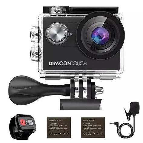 Екшн-камера Dragon Vision Touch 4 EIS 16MP 4K, фото 2