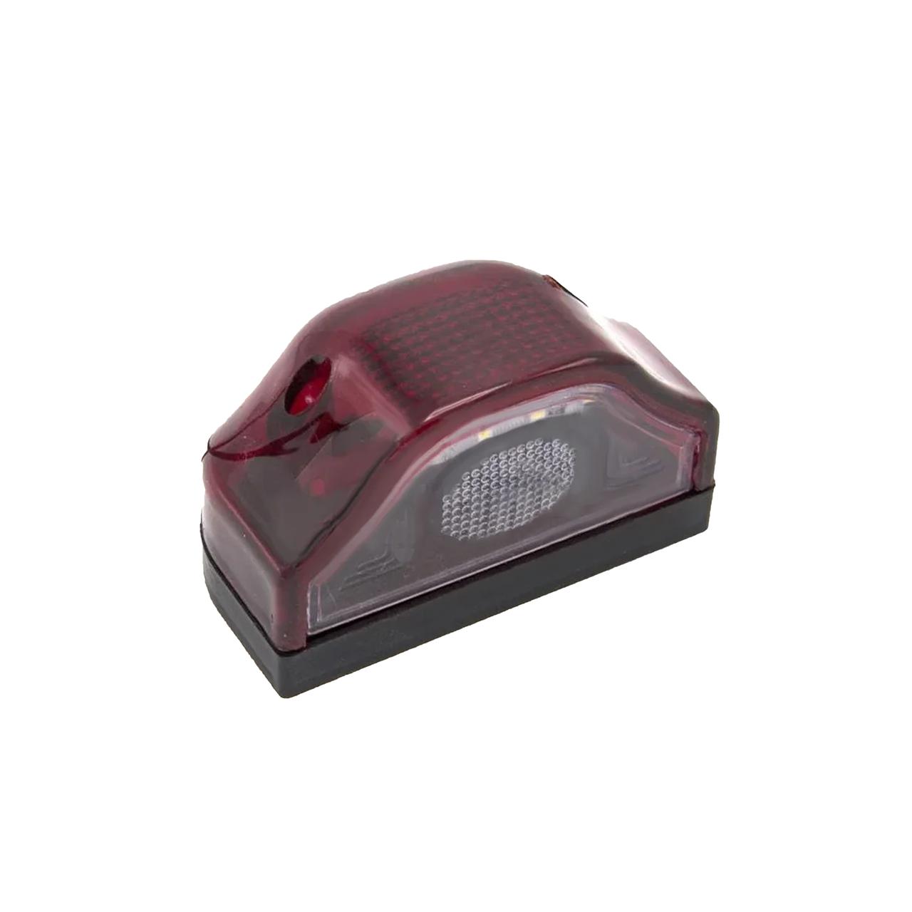 Фонарь подсветки номера диодный красный 24v CARMOS