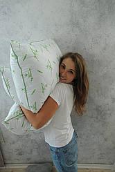 Подушка (наполнитель - бамбуковое вискозное волокно, ткань - хлопок, размер 50х70 см, Украина)