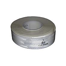 Світловідбиваюча стрічка для маркування кузова Біла 50м Е13