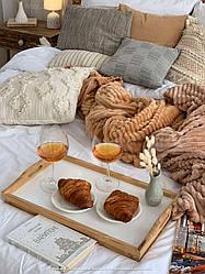 Плед из бамбукового волокна (180х200), Шарпей двуспальный
