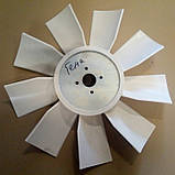 Крыльчатка вентилятора ЯМЗ 238Н (универсальн.) (пласт.9-лопаст.) (пр-во Украина) 238Н-1308012, фото 2