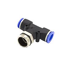 Фитинг соединитель пневматический М22*1,5*12