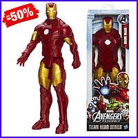 Игровая фигурка супергерой Hasbro Железный Человек Мстители Титаны Iron Man Avengers Titan игрушка для детей