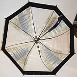 Дитячий силіконовий парасолька-тростина фірми Fiaba на 8 спиць, прозорий Лондон, фото 2