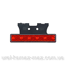 Габаритний ліхтар світлодіодний Червоний з кронштейном 24v 6LED NOKTA