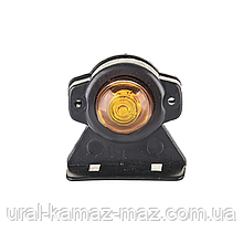 Габаритний ліхтар світлодіодний Жовтий 24v 1LED NOKTA