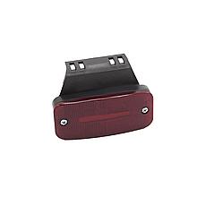 Габаритний ліхтар светодиодый (1 шпальта) Червоний 24v NOKTA