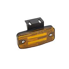 Габаритний ліхтар светодиодый (2 смуги) Жовтий 24v ISIKSAN