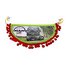 Вимпел декоративний півколо MAN Маленький Червоний
