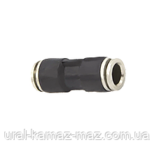 Аварійний з'єднувач посилений пневматичний прямий Ø 4 мм